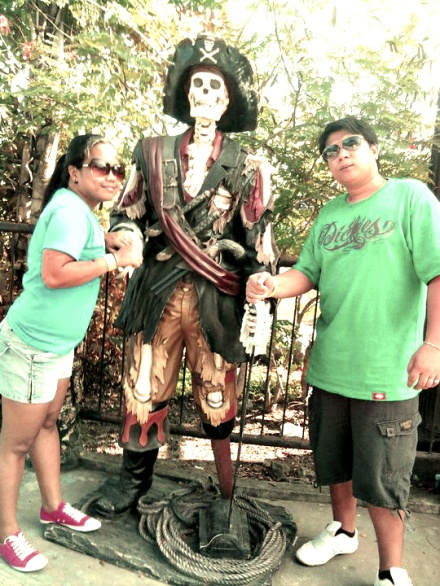 With the Pirate