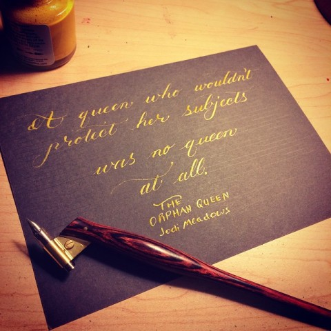 The Orphan Queen Quote Cards